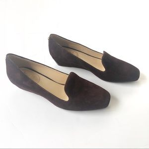VC Signature Mabel Wedge Espresso Wedge Loafer